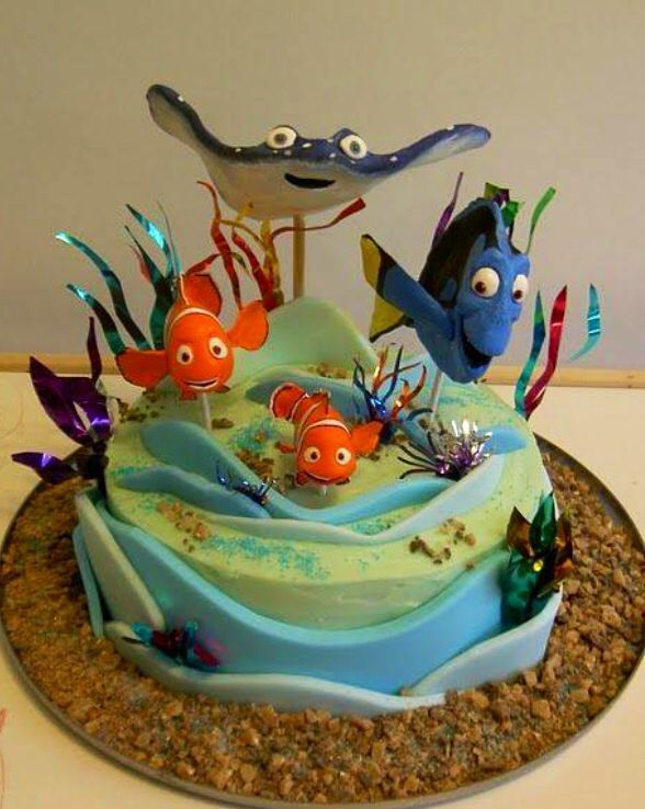 dory birthday cake finding dory cake search one stop 3656