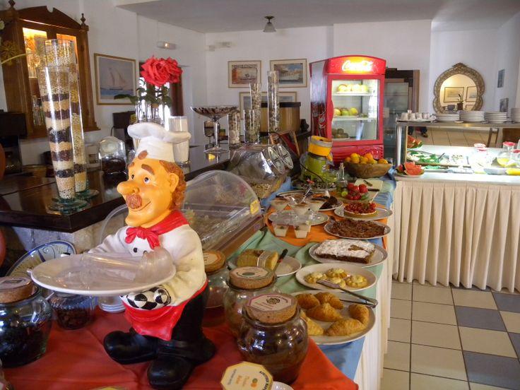 Breakfast at Portiani hotel!