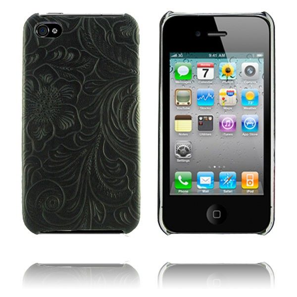 Romance (Sort) iPhone 4 Dekse