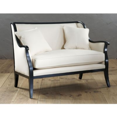 402 best images about settee on pinterest upholstery for Ballard designs chaise