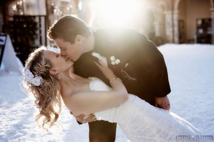 A little ways outside Kelowna - Sun Peaks Resort. Winter Wedding in Canada!
