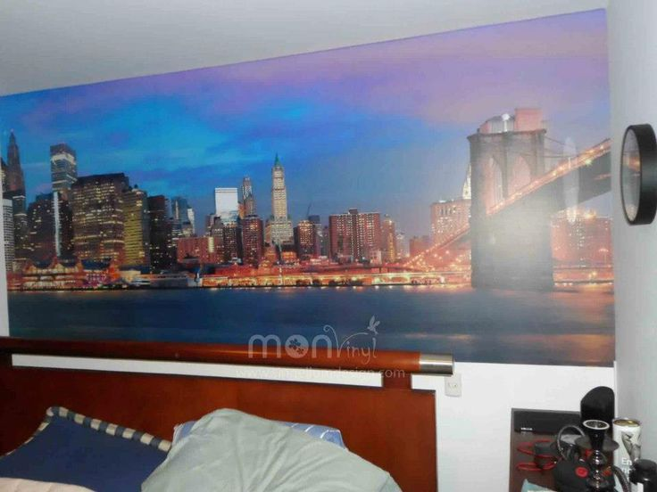 Fotomural montaje new york vinilos decorativos for Murales adhesivos