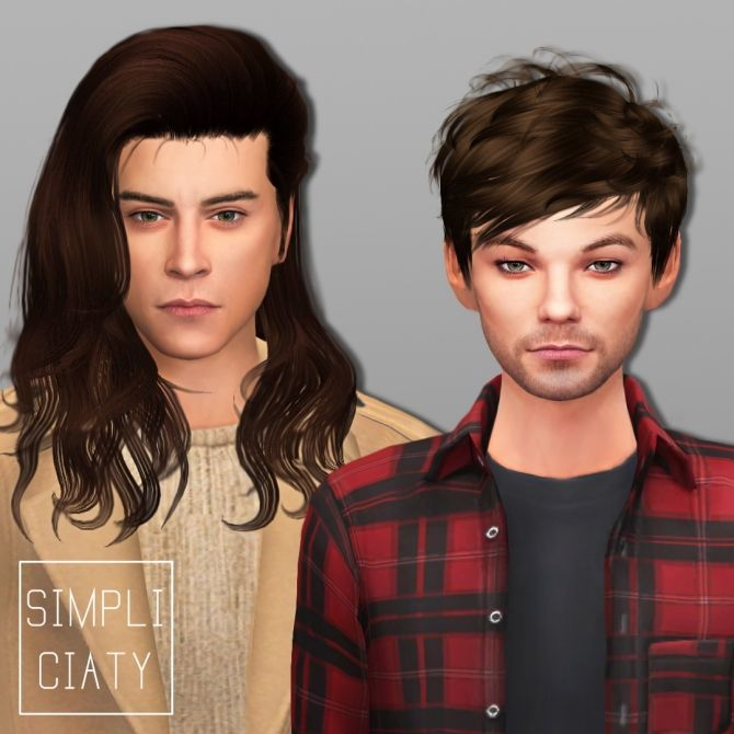 One Direction + Zayn Malik at Simpliciaty via Sims 4 Updates