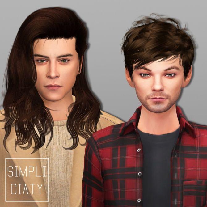 One Direction + Zayn Malik at Simpliciaty via Sims 4 Updates