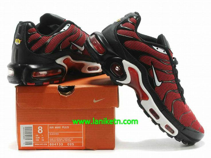 Nike Air Max Tn Requie/tuned 1 Chaussure De Basket-ball Pour homme Rouge