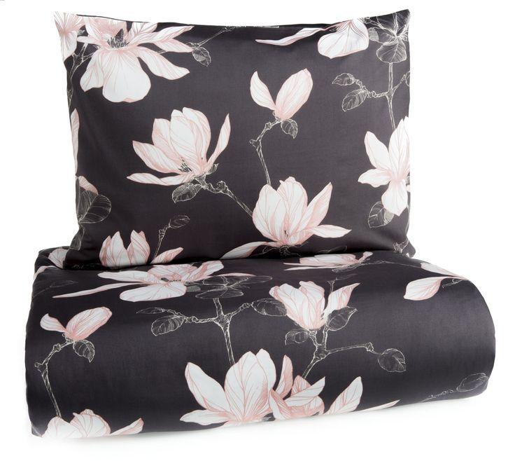 The Magnolia bed set by Finlayson, Finland. Satin. Online store   Magnolia-satiinipussilakanasetti - Finlayson verkkokaupasta