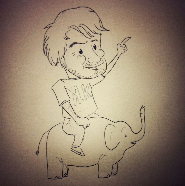 Ridin´the Elephant....