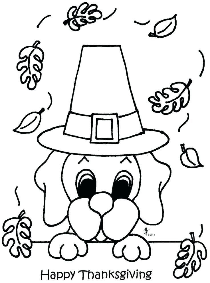 Turkey Coloring Pages Free Pictures