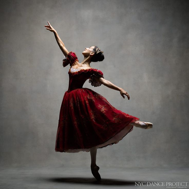 Sonia Rodriguez, Principal dancer, The National Ballet of Canada Wearing Onegin costume, designed by Santo Loquasto - NYC Dance Project
