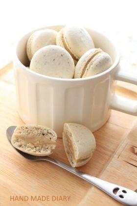 「マサラチャイのマカロン」もそ | お菓子・パンのレシピや作り方【corecle*コレクル】