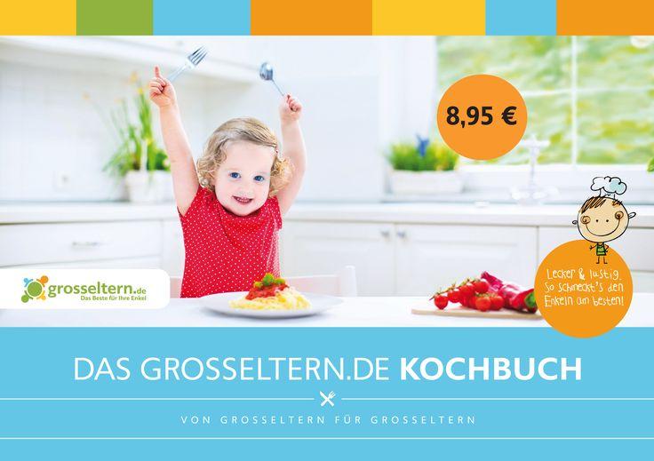 Ein schönes Geschenk zu Weihnachten: Das grosseltern.de Kochbuch. http://amzn.to/1uVGuFB