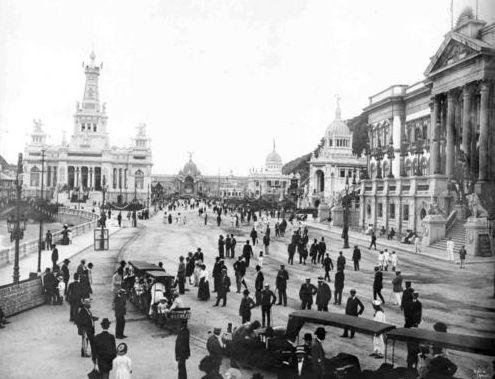 Rio de Janeiro - Urca - Exposição Internacional - 1908
