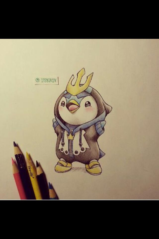 Piplup drawing