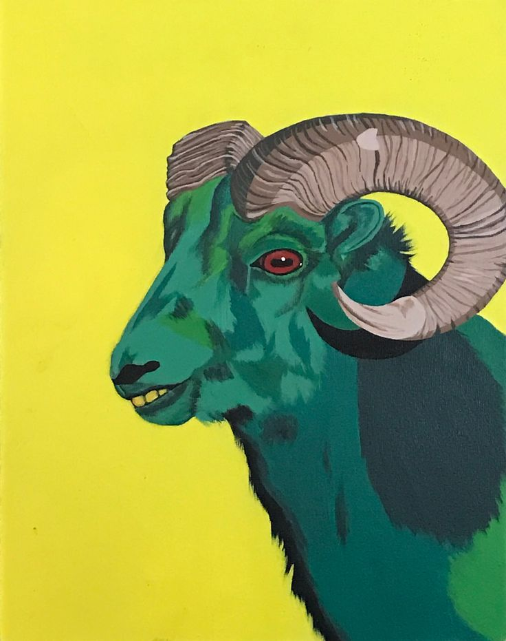 By Lauren Kohut. Pop art in acrylic, 2012.