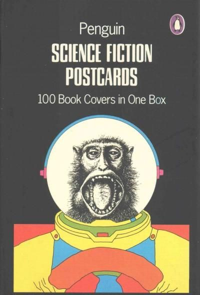A collection of 100 postcards featuring iconic, bizarre, and mind-blowing science fiction book covers Exploring the weird, wonderful world of science fiction cover art, this set of one hundred postcar