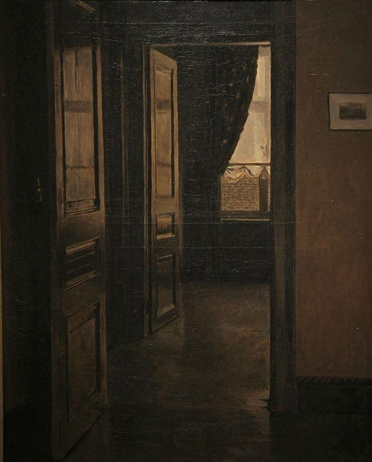 XAVIER MELLERY (1845-1921) The Doors