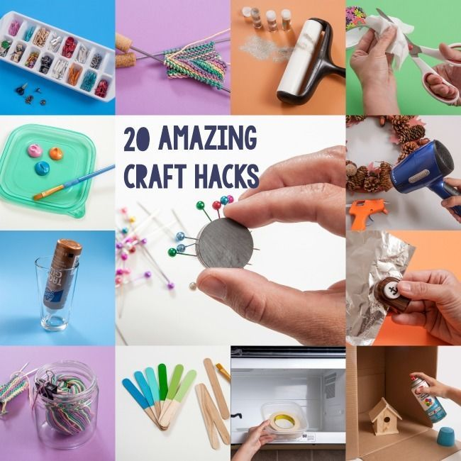 20 amazing craft hacks you've never thought of!