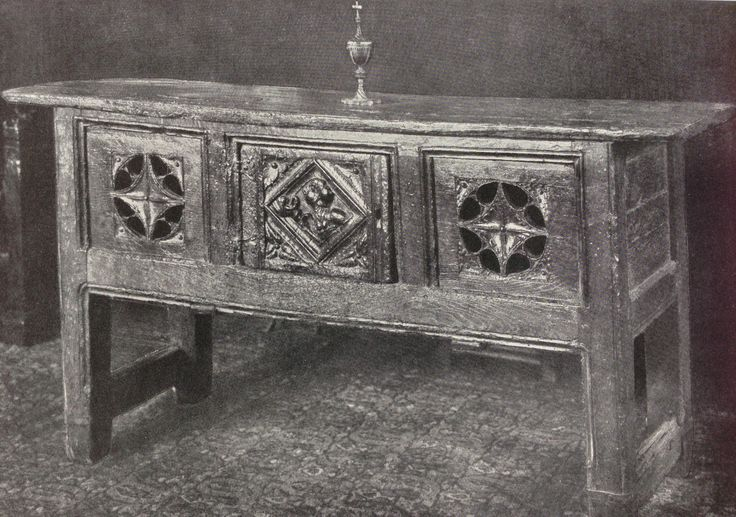Tudor Hutch Table Burrell Collection Tudor Furniture