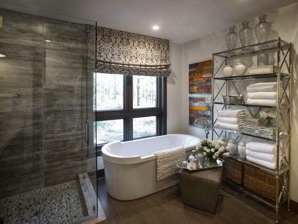 HGTV Dream Home 2014 : Master Bathroom Pictures