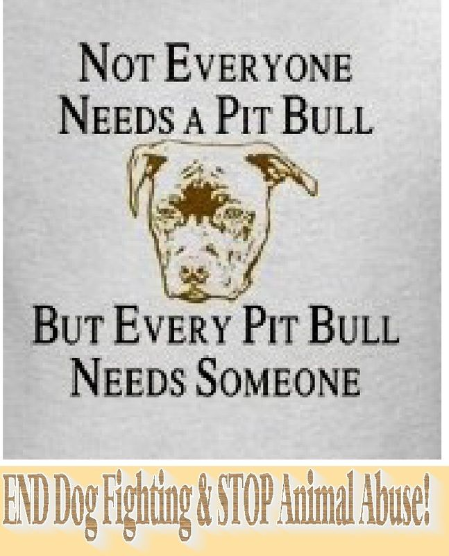 They are not mean dogs; I truly believe that how we raise them is what matters! If we raise them in a fighting ring, they are raised to kill; and their is only one race to blame- humans. We are not bad people. I repeat- WE ARE NOT BAD PEOPLE! It is what we do that makes us bad.