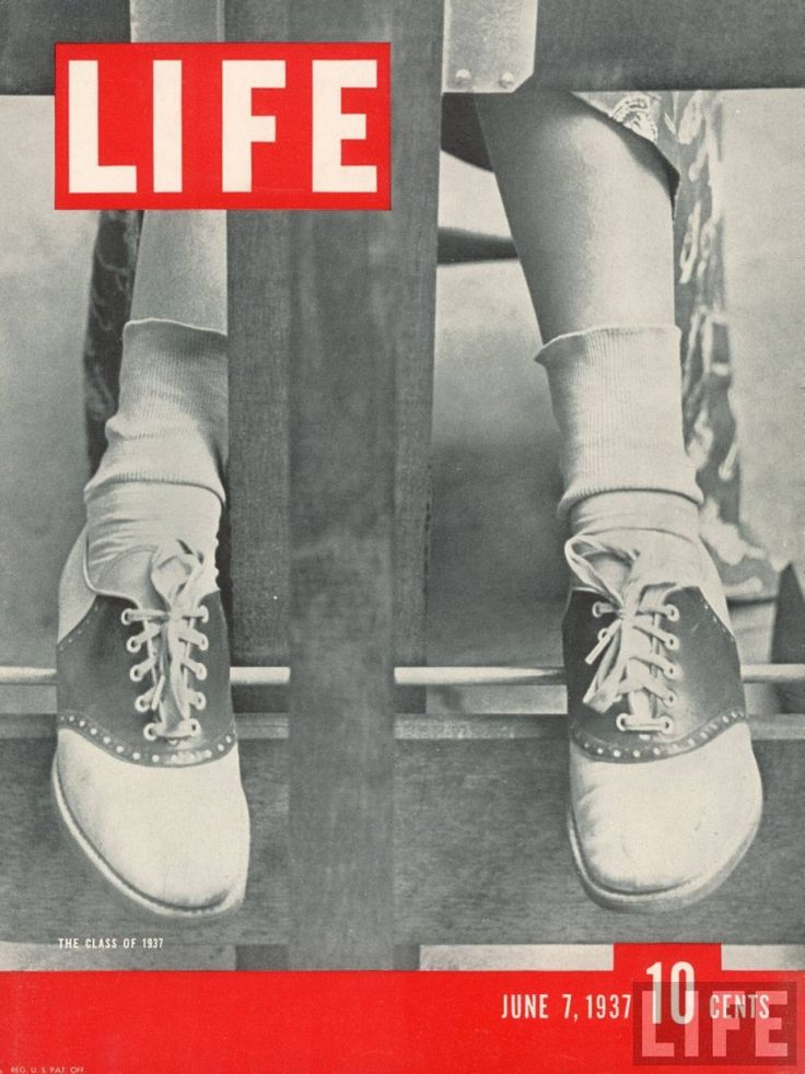 I was lucky to get to wear saddle shoes, for a while she wanted me to wear HushPuppies! And sometimes we saw Life, but sometimes the pictures were too risque!