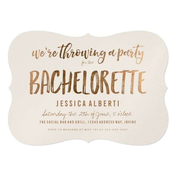 15 best Bachelorette Party Invitations images on Pinterest - bachelorette invitation template