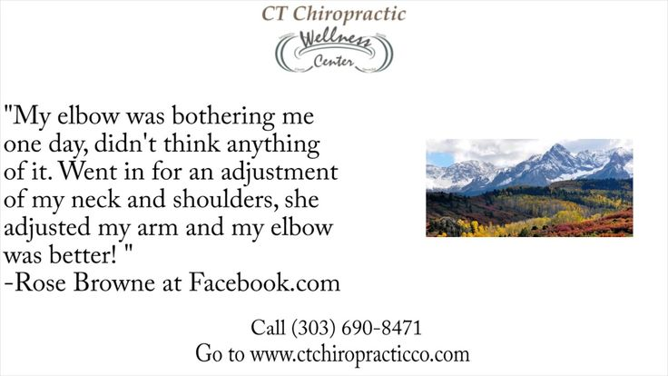 CT Chiropractic Wellness Center REVIEWS - Aurora, CO Chiropractor Reviews