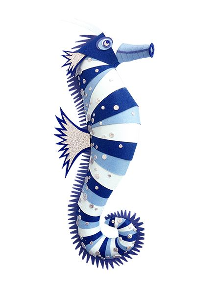Atlantis by Zim & Zou | #paper #art #design