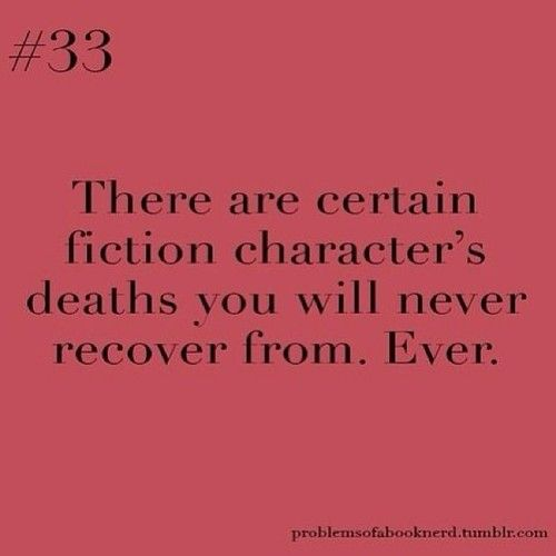 Fred Weasley, Dobby the House Elf, Sirius Black. Jack Bristow, Irina Derevko, Nadia Santos, Francie. Tommy Merlyn, Sara Lance.