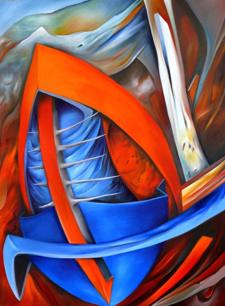 """oil painting - """"Maska"""""""