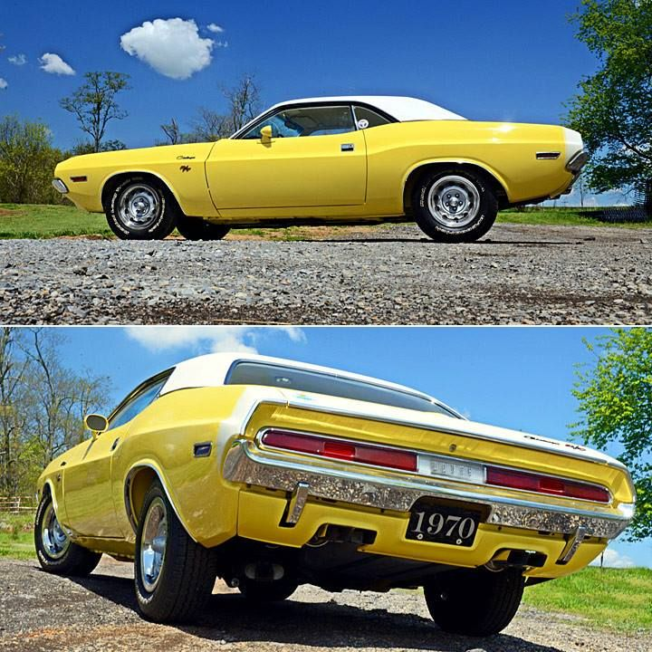 Six Dodge 440 Pack 70 Rt Challenger