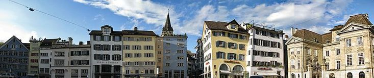 Zuerich's adorable old town