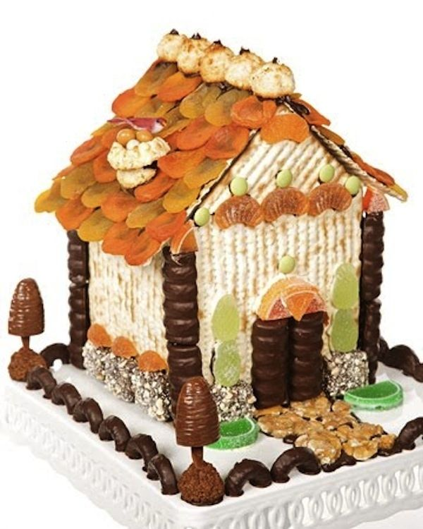 Matzoh House Is The New GingerbreadHouse  Behold the architectural feats of unleavened bread.
