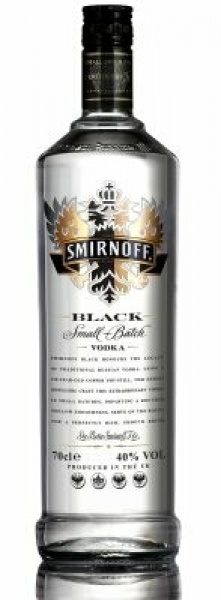 Smirnoff Black Label, Vodka / 40% vol (0,7L)