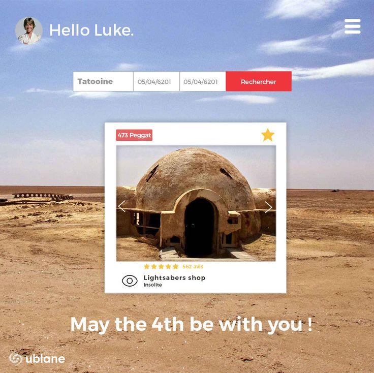 Envie de faire un tour du côté de Tatooine ?  Ouvrez votre commerce éphémère de sabres lasers, on est sur que ça marchera pour vous ! #MayThe4th #MayThe4thBeWithYou #ublane #popupstore #boutiqueephemere #starwars