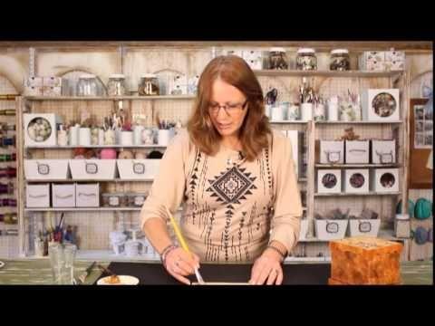 Art Craft - Tutorial 24 - Mara Benini - Falsos Acabados madera - YouTube