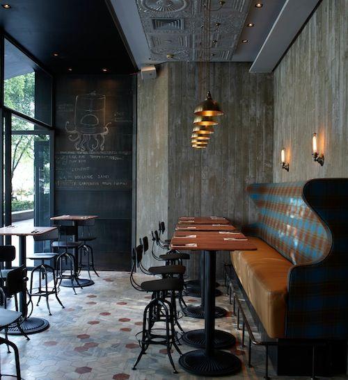 MATTO SHANGHAI: Banquette, Interiors Wall, S'More Bar, Restaurant Design, Interiors Design, Cafe, Matto Bar, Shanghai, Restaurantdesign