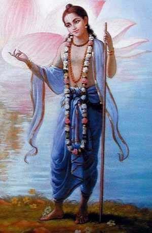 Lord Nityananda - Ordered by Sri Chaitanya to preach in Begal
