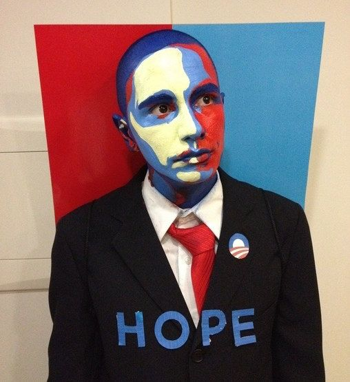People dressing up as politicians in America: | Halloween in America Vs. Halloween in Scotland
