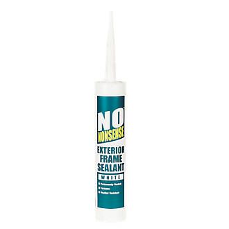 No Nonsense Exterior Frame Sealant White 310ml 310ml. One-part, odourless and flexible acrylic sealant for external and internal joints around all types of frames. Solvent-free, weather and water resistant. Easy to apply, bonds to most substrates  http://www.MightGet.com/january-2017-13/no-nonsense-exterior-frame-sealant-white-310ml.asp