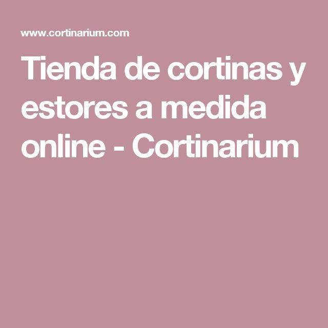 Tienda de cortinas y estores a medida online - Cortinarium