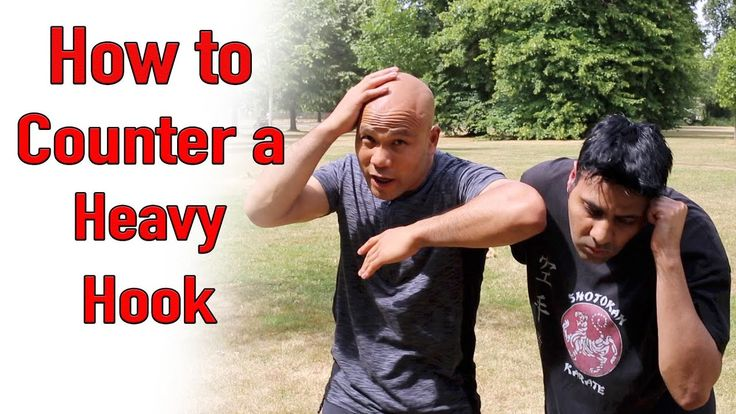 How to defend and counter the Hook - Self defence Street fight - YouTube
