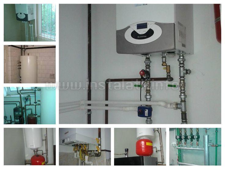 Instalare centrale termice pe gaz