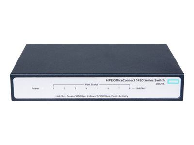 The HPE OfficeConnect 1420 Switch Series delivers cost effective gigabit Ethernet (1GbE) connectivity offering small businesses 10 times the performance of Fast Ethernet with unmanaged plug-and-play simplicity.     https://racksimply.com/shop/networking/network-hubs-switches/hpe-officeconnect-1420-8g-switch-unmanaged/   #RackSimply #NetworkSwitches #aruba