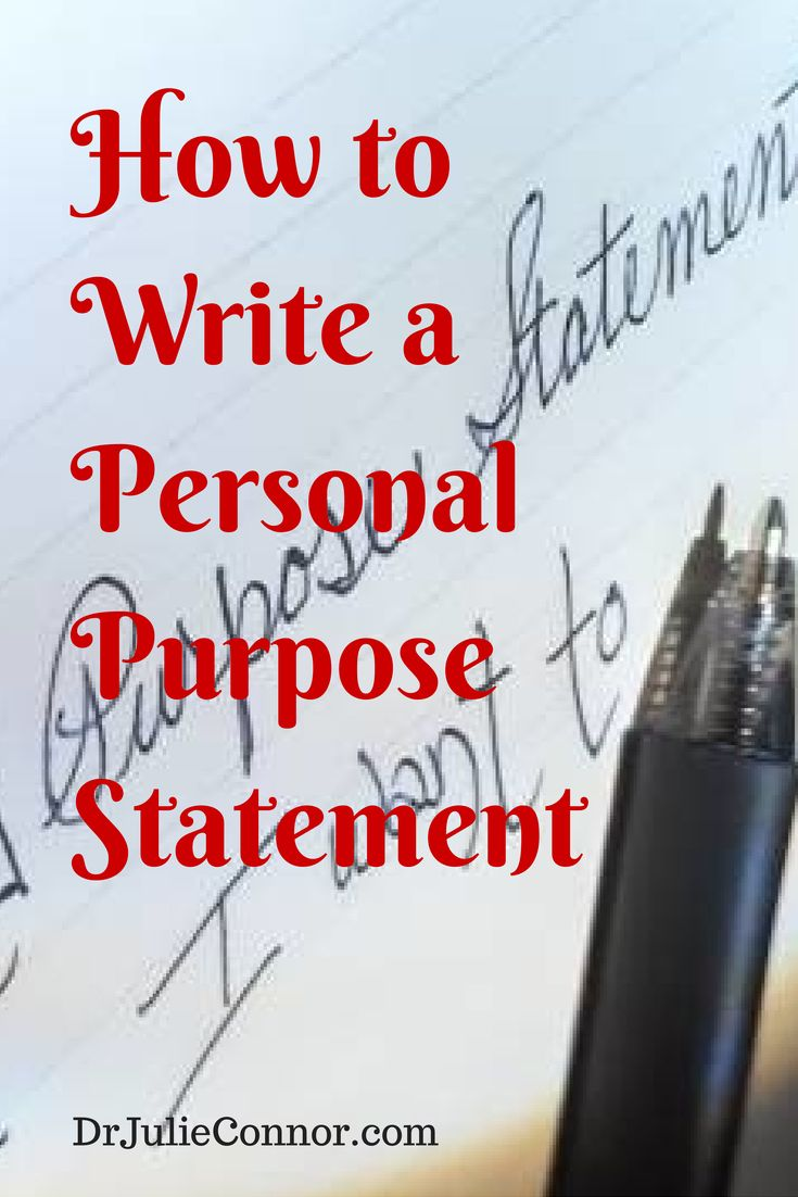 17 best ideas about purpose statement graduate a personal purpose statement reveals who you are what you do and why you