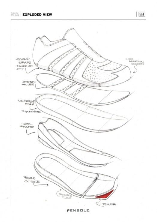 BBoy Cypher Footwear by Arnau Sanjuan Roman (iPensole)