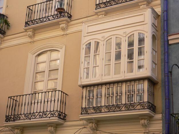 Balcones blancos