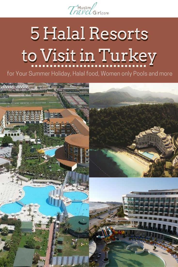 5 Halal Resorts To Visit In Turkey For Your Summer Holiday Halal Food Women Only Pools And More Muslimtravelgirl Turkish Resorts Halal Recipes Resort