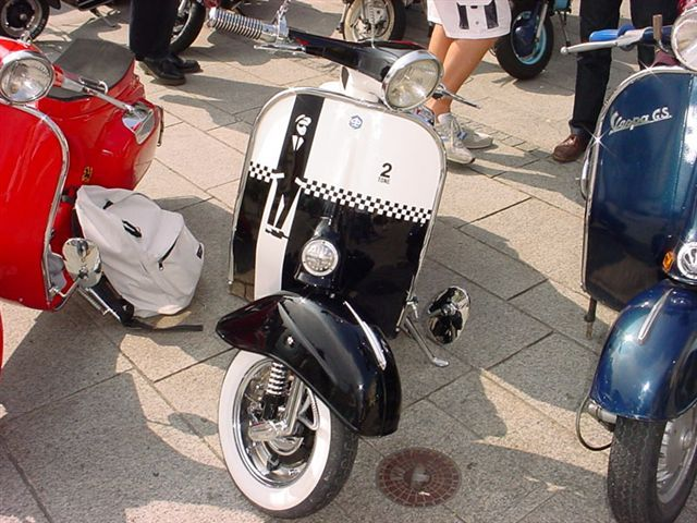 Two tone checkers. The Specials.