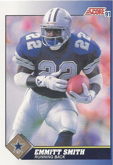 Emmitt Smith Football Trading Card Score by FloridaFindersSports, $5.00